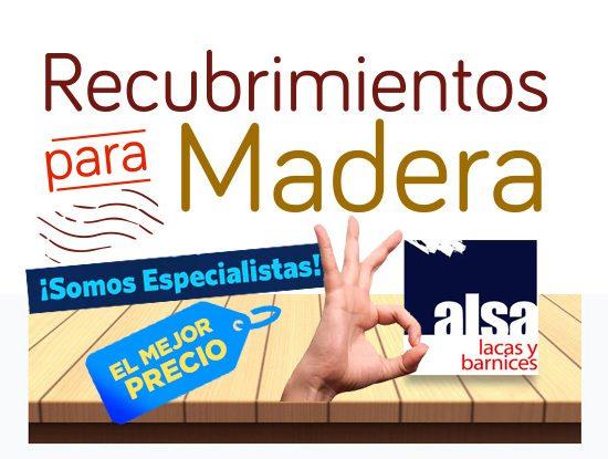 Recubrimientos para madera Puebla